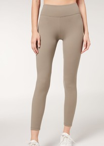 calzedonia esp Leggings Active Ultra Light 386c - beige paloma