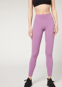 calzedonia esp Leggings Active Ultra Light 387c - morado glicina